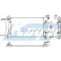 Corolla  Радиатор охлаждения автомат 1.4 1.6 (KOYO)