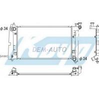 Corolla  Радиатор охлаждения механика 1.4 1.6