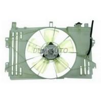 Corolla  Мотор+вентилятор радиатора охлаждения с корпусом