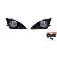 Corolla  Фара противотуманная левая+правая (комплект) с проводкой , кнопкой , решетками бампера