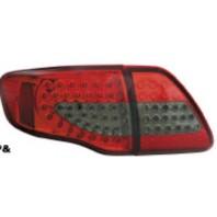 Corolla  Фонарь задний внешний+внутренний (КОМПЛЕКТ) тюнинг с диодами (EAGLE EYES) внутри красно-тонированный