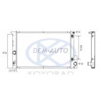 Corolla {auris 06-} Радиатор охлаждения автомат (бензин) (KOYO)