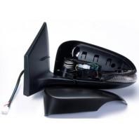 Corolla  Зеркало левое электрическое с подогревом , указателем поворота , 7 контактов (convex) грунтованное
