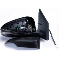 Corolla  Зеркало правое электрическое с подогревом , указателем поворота ,7 контактов (convex) грунтованное