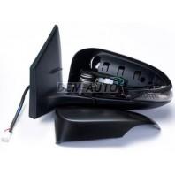 Corolla  Зеркало левое электрическое с подогревом , с автоскладыванием, указатель поворота , 9 контактов(convex)грунтованное