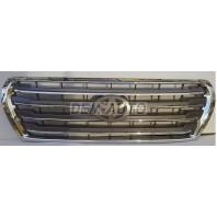 Landcruiser  Решетка радиатора хром-серебро