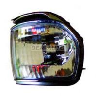Landcruiser  Указатель поворота угловой правый тюнинг прозрачный хрустальный с молдингом хромированным