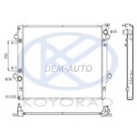 Prado  Радиатор охлаждения автомат 4(KOYO)
