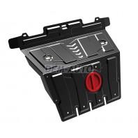 Prado {4 Защита поддона двигателя,с креплениями,1 часть,стальная {4,0/3,0/GX 460 4.6}