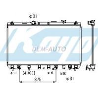 {+ MARK 2 УНИВЕРСАЛ} Радиатор охлаждения автомат 2.2 (KOYO)