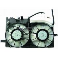 Мотор+вентилятор радиатора охлаждения двухвентиляторный