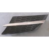 Rav4  Решетка радиатора левая черная с хромированным молдингом (Китай)