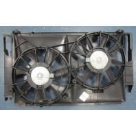 Rav4 +  Мотор+вентилятор радиатора охлаждения двухвентиляторный с корпусом 2.0L
