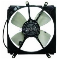 Мотор+вентилятор радиатора охлаждения с корпусом(Китай)